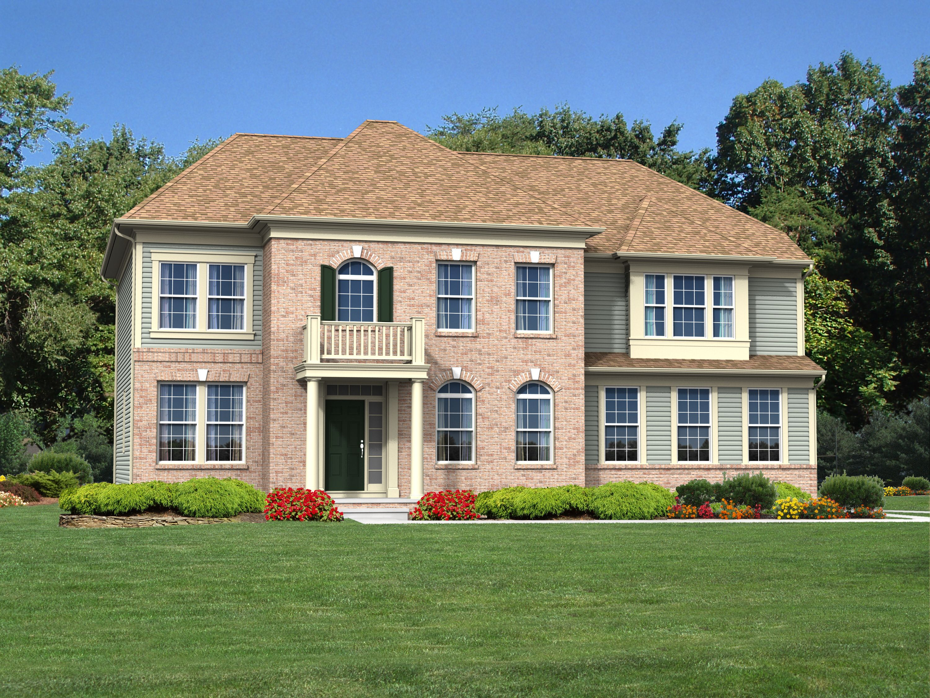 Exterior featured in The Kennedy By Blenheim Homes, L.P. in Wilmington-Newark, DE