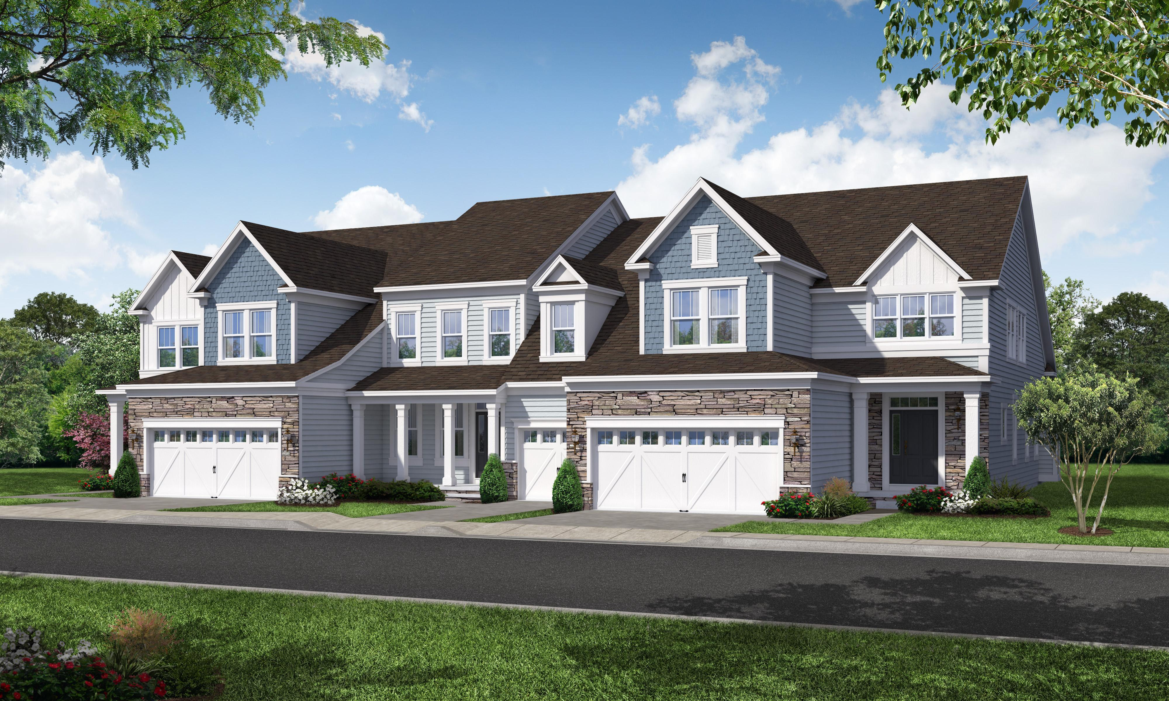 Exterior featured in The Keaton - 55+ By Blenheim Homes, L.P. in Wilmington-Newark, DE