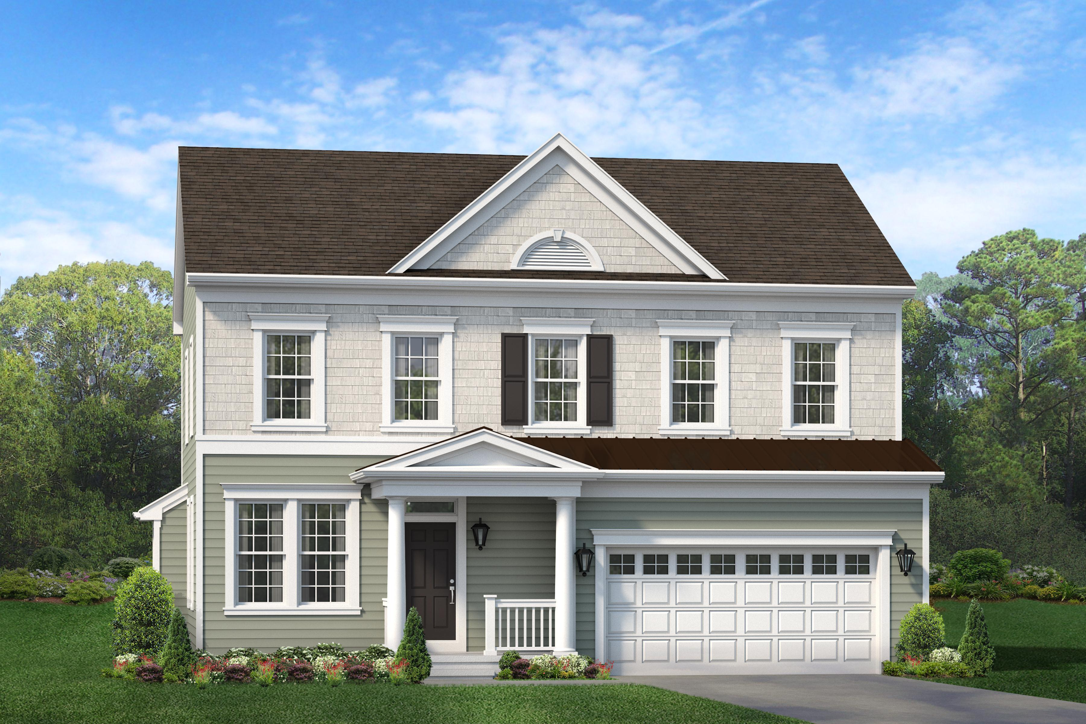 Exterior featured in The Astaire By Blenheim Homes, L.P. in Wilmington-Newark, DE