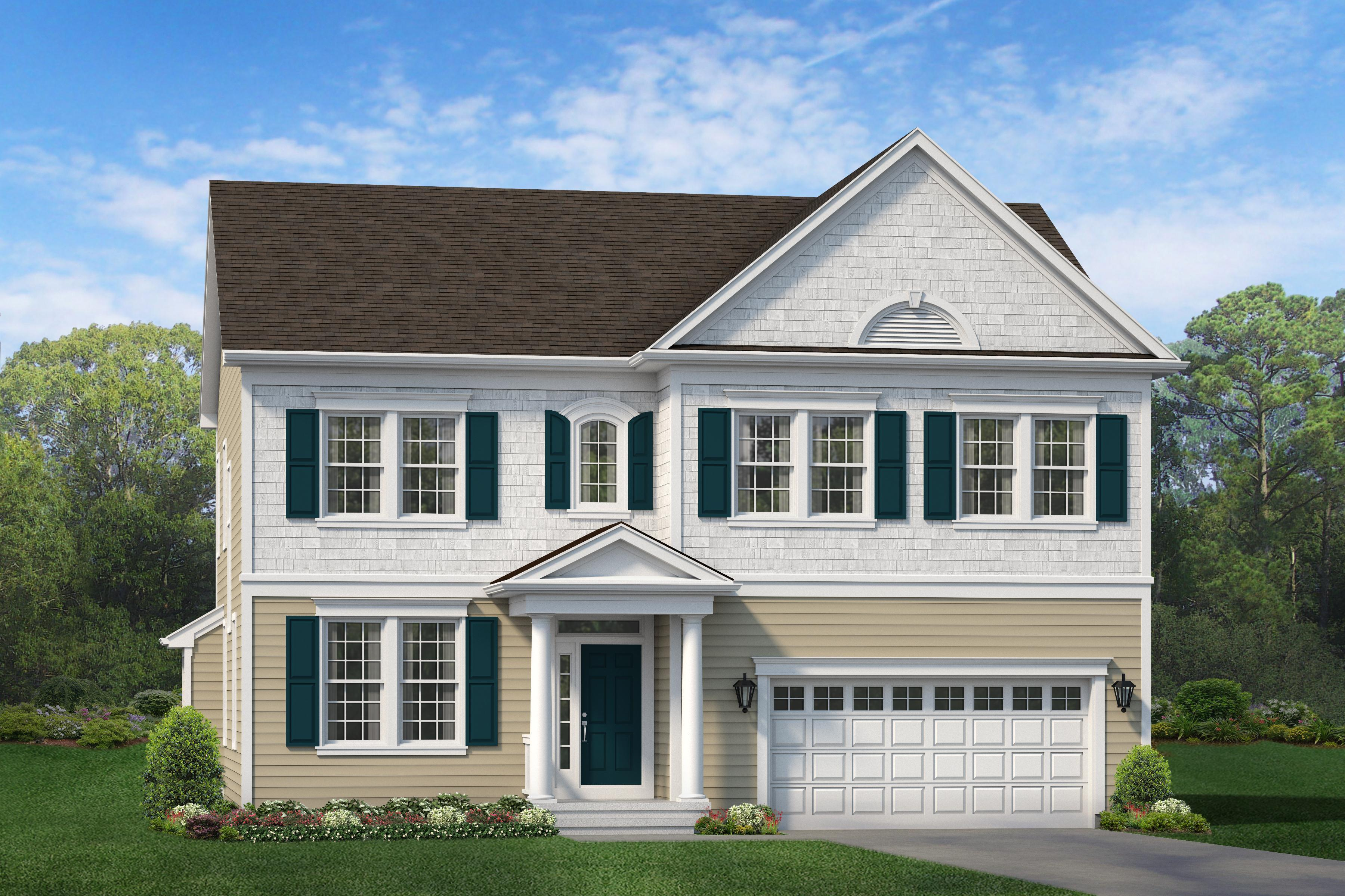Exterior featured in The Duke By Blenheim Homes, L.P. in Wilmington-Newark, DE