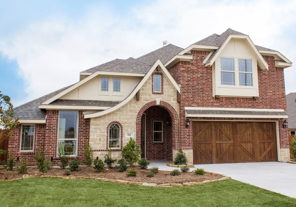Lakeview Estates in Anna TX New Homes Floor Plans by Bloomfield – Bloomfield Homes Floor Plans