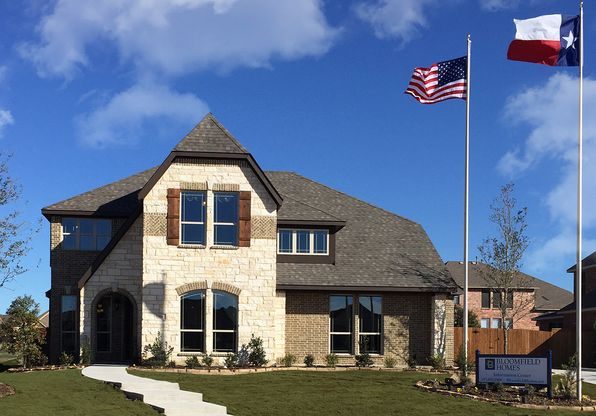 Kentsdale Farm in Desoto TX New Homes Floor Plans by Bloomfield – Bloomfield Homes Floor Plans