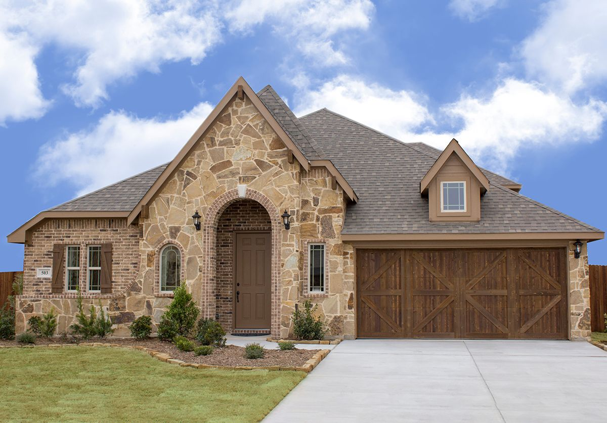 New Homes in Waxahachie TX   Garden Valley   Bloomfield Homes