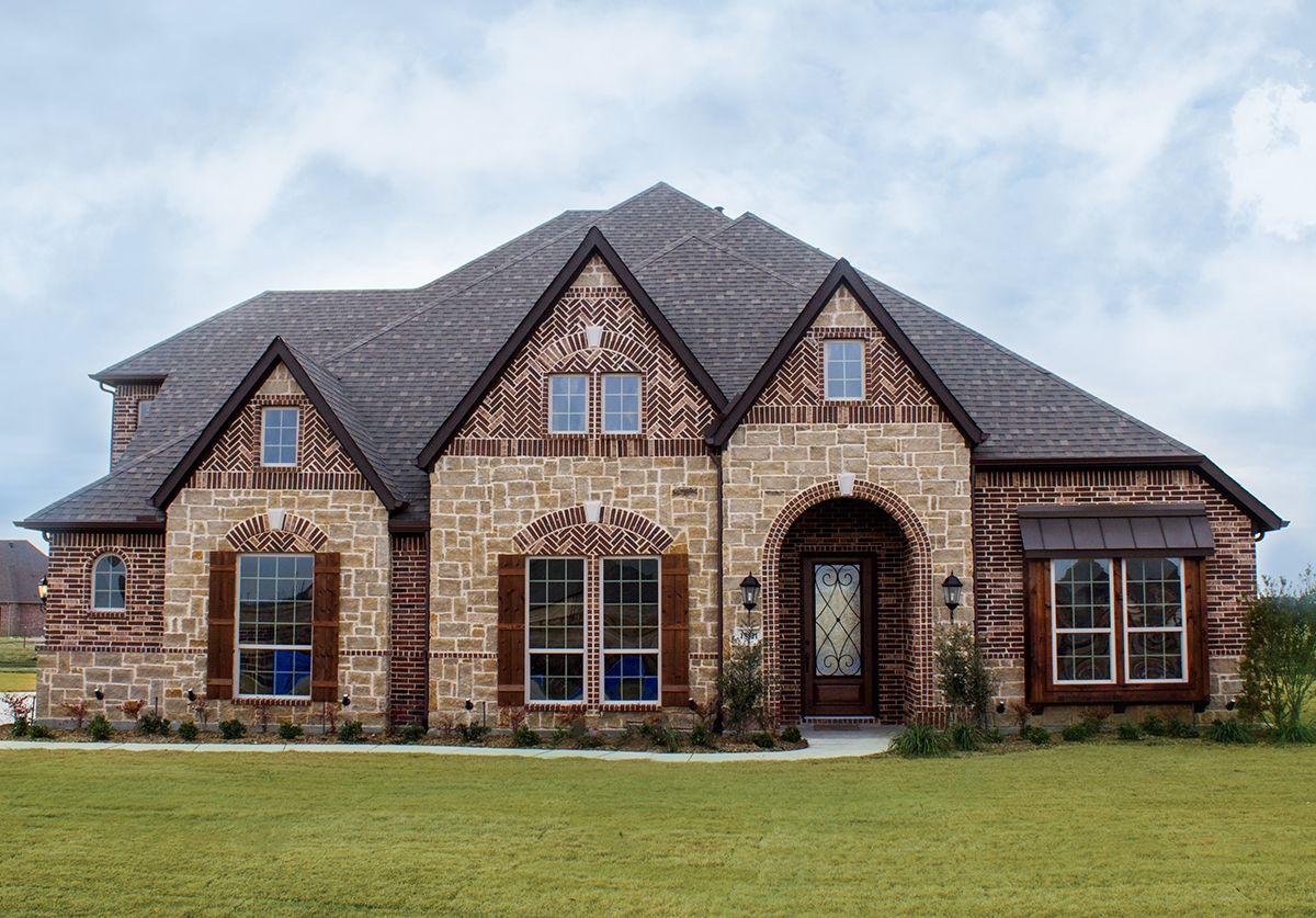 New Homes Prosper Tx Prosper Lake Bloomfield Homes