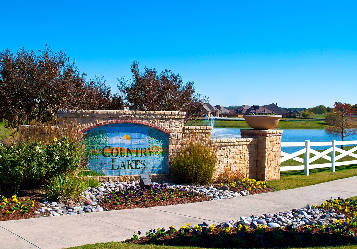 New Homes In Country Lakes Argyle Tx