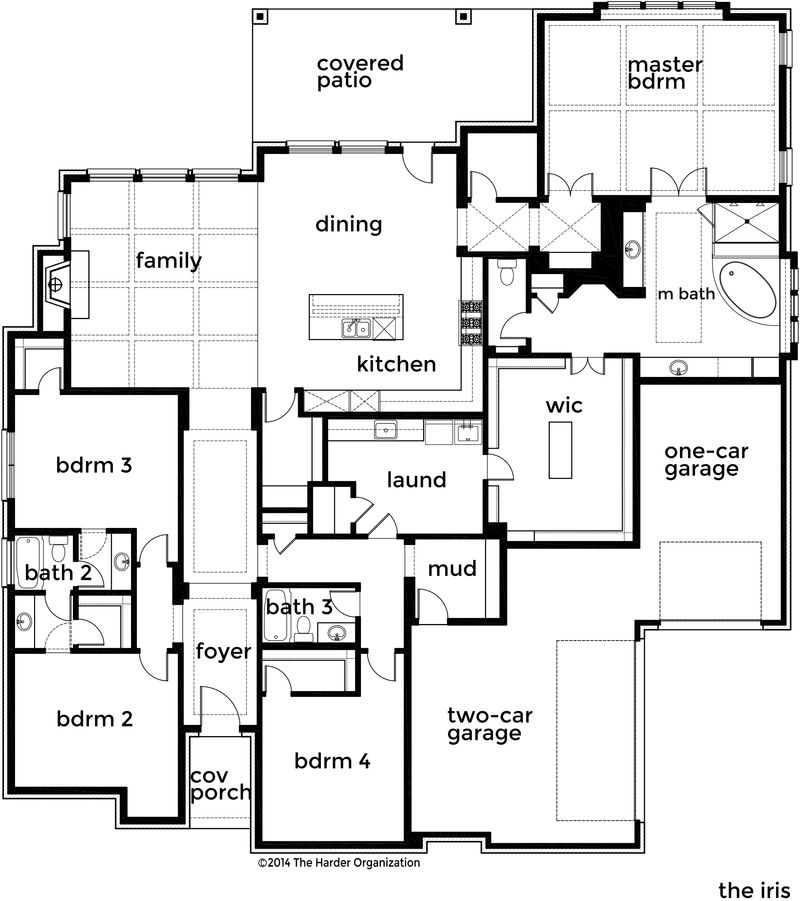 Iris Home Plan by Bloomfield Homes in All Bloomfield Plans – Bloomfield Homes Floor Plans
