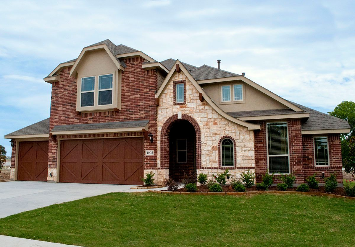 Stone ranch in wylie tx by bloomfield homes for Texas stone homes