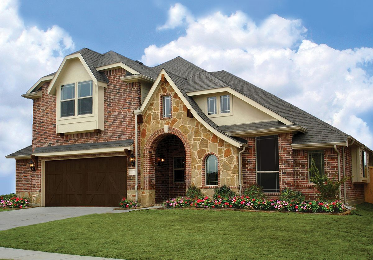New homes in mansfield tx dove chase bloomfield homes for House plans under 200k to build