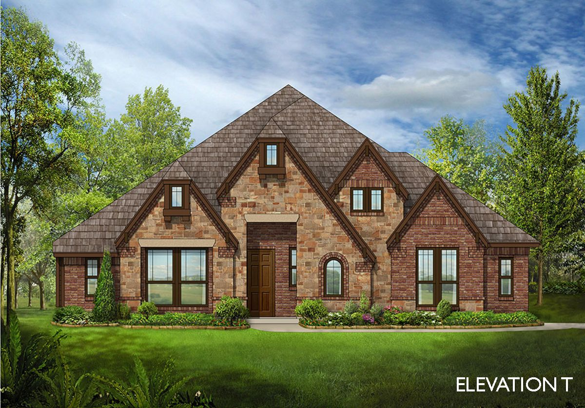 Carolina side entry home plan by bloomfield homes in for Two story farmhouse oak park