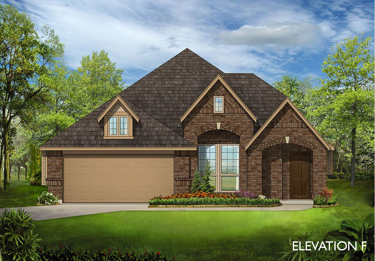 Dogwood Home Plan By Bloomfield Homes In Lakeview Estates