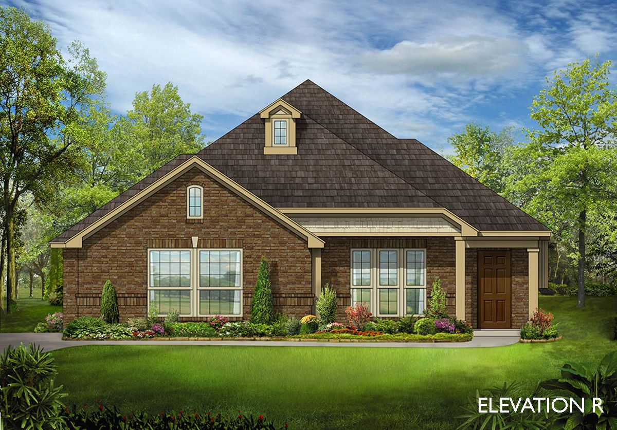 Dogwood side entry home plan by bloomfield homes in for Two story farmhouse oak park