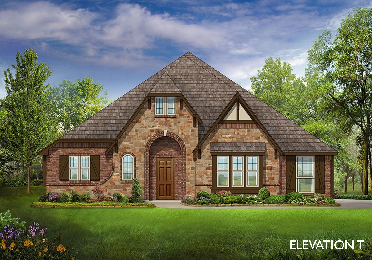 Hawthorne ii side entry home plan by bloomfield homes in for Two story farmhouse oak park
