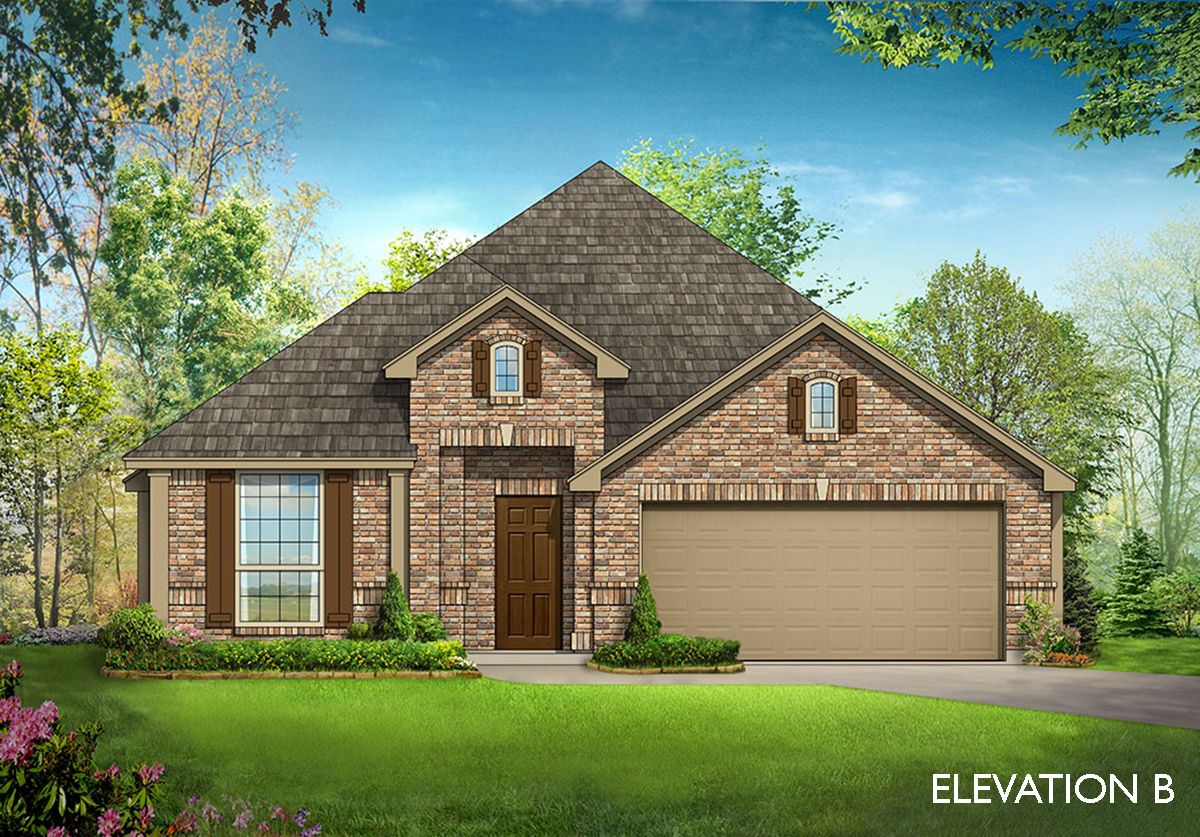 Cypress home plan by bloomfield homes in all bloomfield plans for Two story farmhouse oak park
