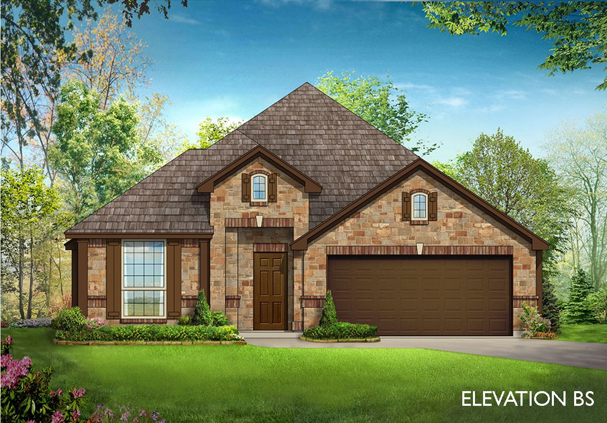 Cypress ii home plan by bloomfield homes in all bloomfield for Two story farmhouse oak park