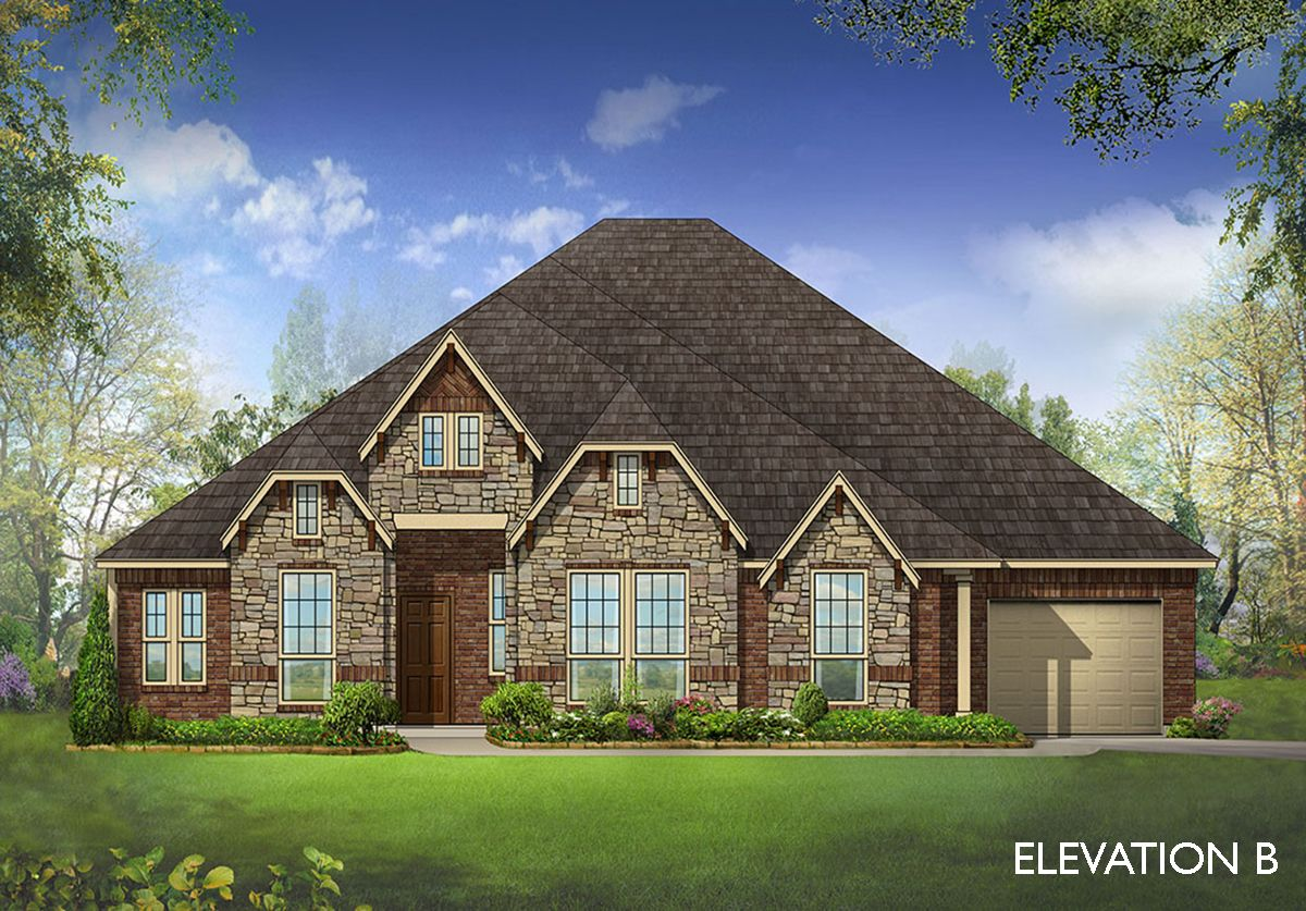 Primrose ii home plan by bloomfield homes in all for Two story farmhouse oak park
