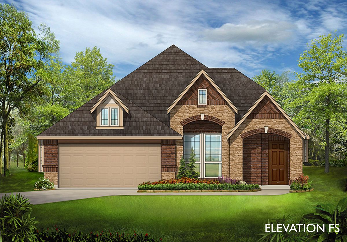 Dogwood iii home plan by bloomfield homes in classic series for Two story farmhouse oak park
