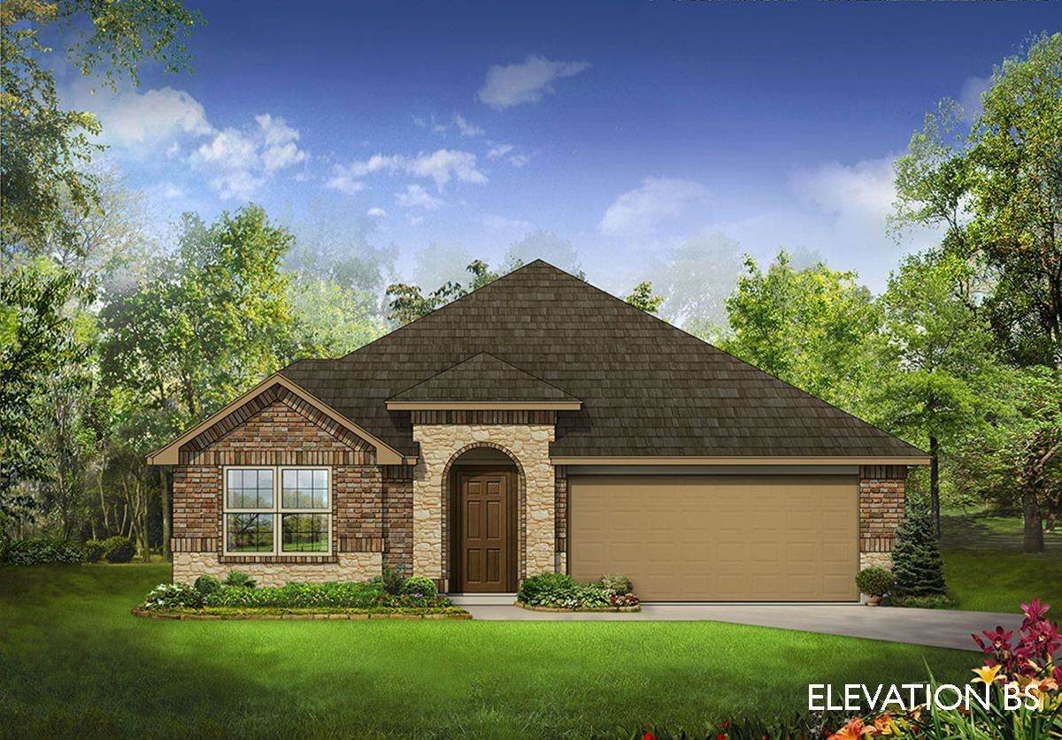 Redbud Home Plan by Bloomfield Homes in West Crossing