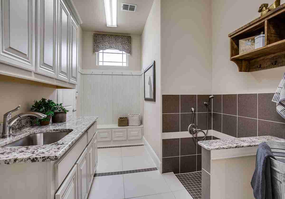 Laundry Room with Optional Dog Wash