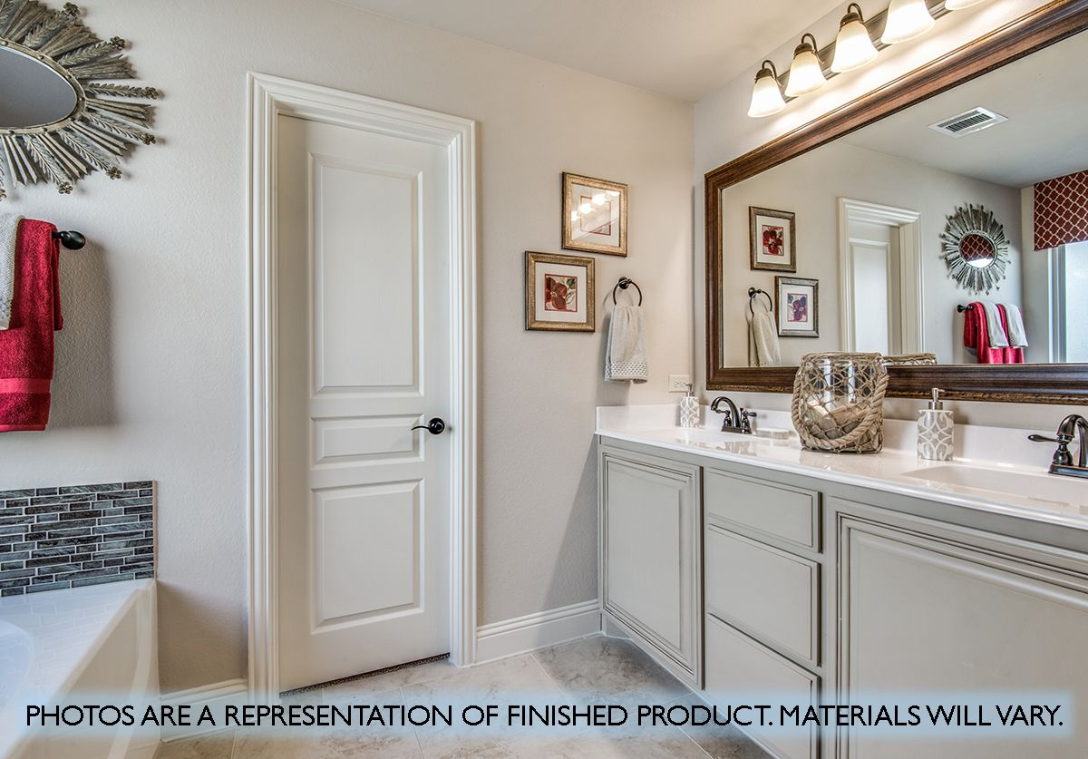 Bathroom featured in the Carolina II By Bloomfield Homes in Dallas, TX