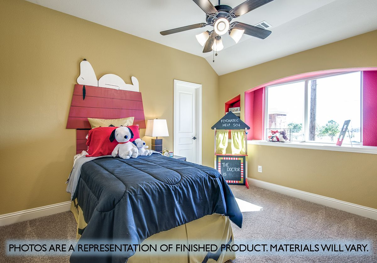 Bedroom featured in the Carolina II By Bloomfield Homes in Dallas, TX