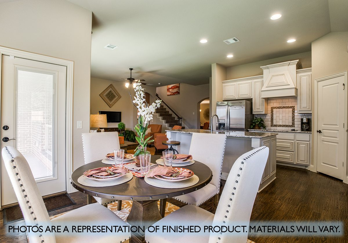 Kitchen featured in the Carolina III By Bloomfield Homes in Dallas, TX