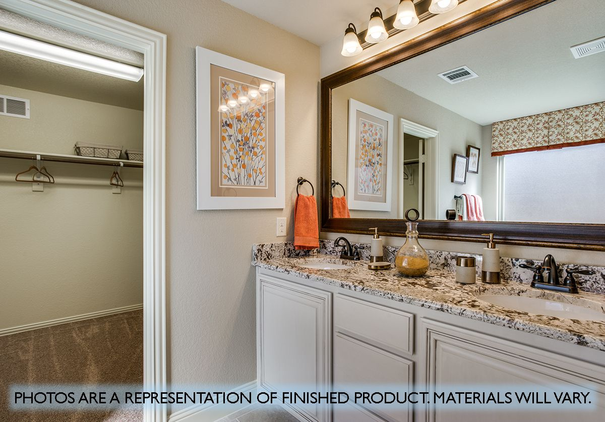 Bathroom featured in the Carolina III By Bloomfield Homes in Dallas, TX
