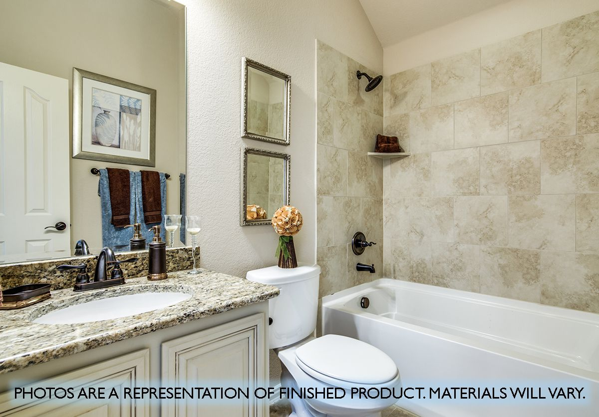 Bathroom featured in the Carolina IV By Bloomfield Homes in Dallas, TX