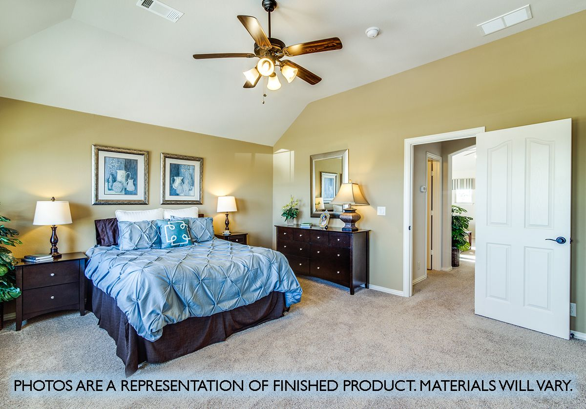 Bedroom featured in the Carolina IV By Bloomfield Homes in Dallas, TX