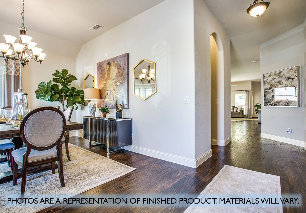 Living Area featured in the Cypress By Bloomfield Homes in Dallas, TX