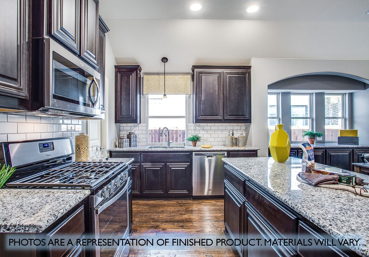 Kitchen featured in the Cypress By Bloomfield Homes in Dallas, TX