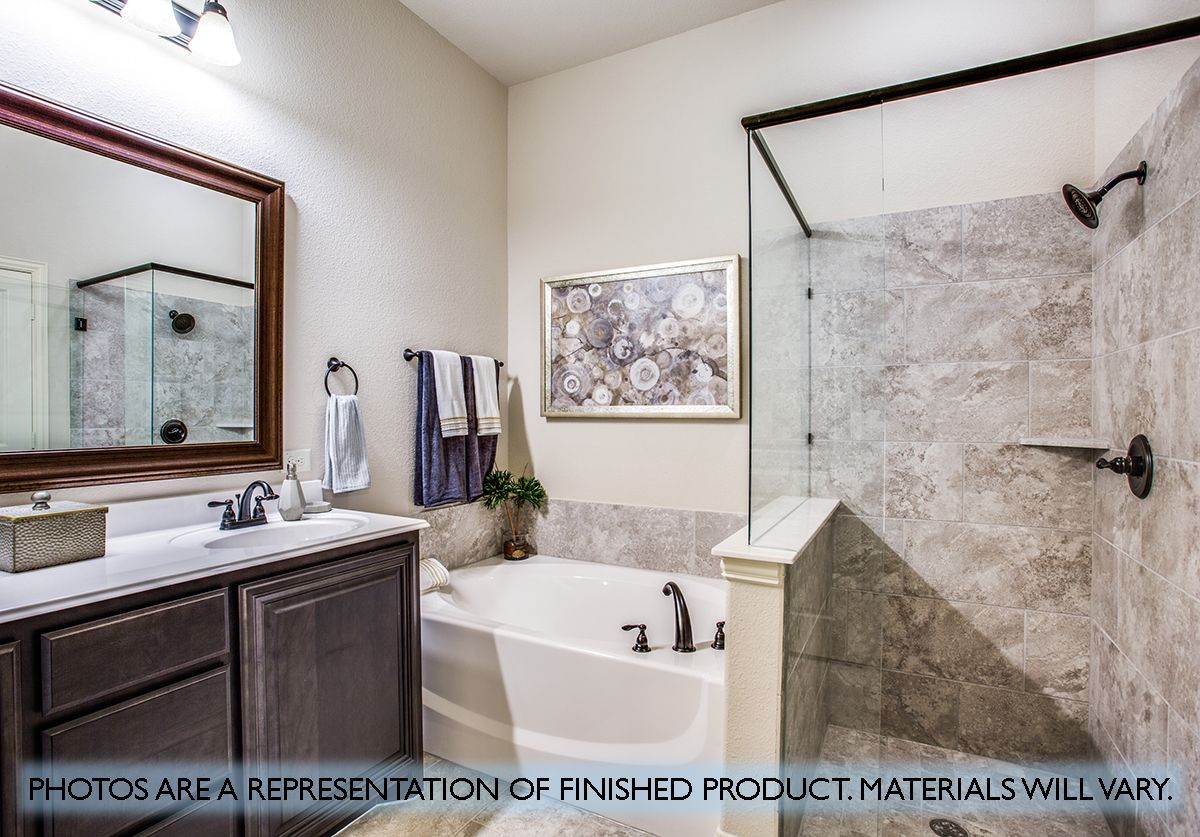 Bathroom featured in the Cypress By Bloomfield Homes in Dallas, TX