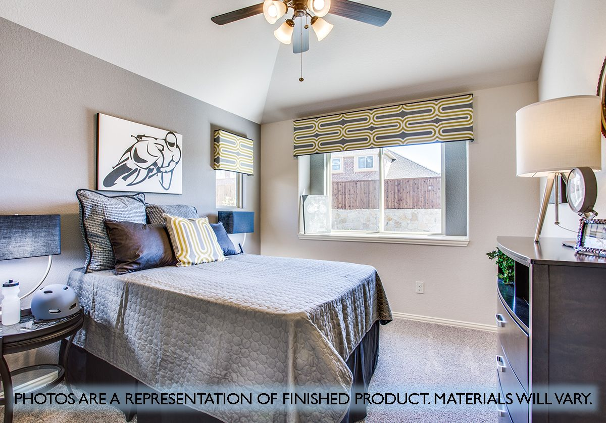 Bedroom featured in the Cypress By Bloomfield Homes in Dallas, TX