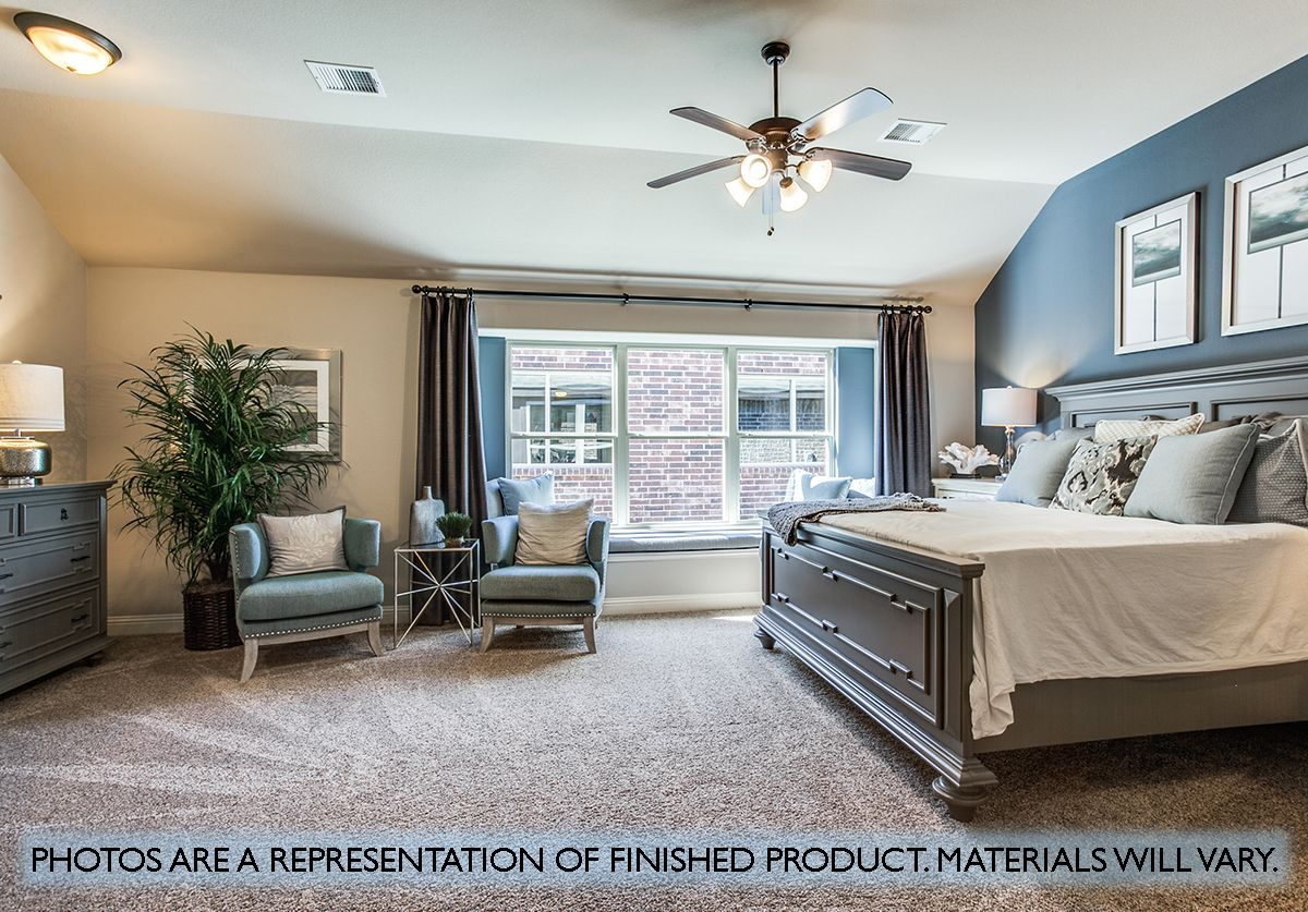Bedroom featured in the Cypress II By Bloomfield Homes in Dallas, TX