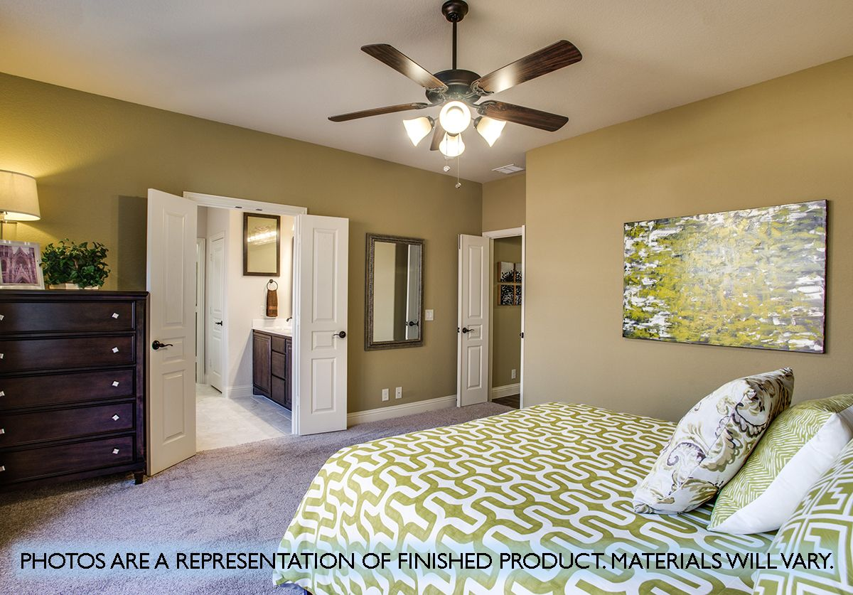 Bedroom featured in the Dewberry By Bloomfield Homes in Fort Worth, TX