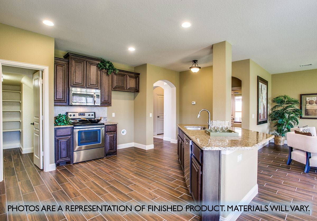 Kitchen featured in the Dewberry By Bloomfield Homes in Fort Worth, TX