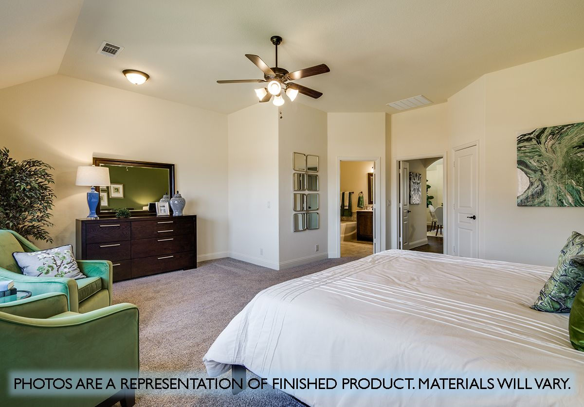Bedroom featured in the Hawthorne II By Bloomfield Homes in Fort Worth, TX