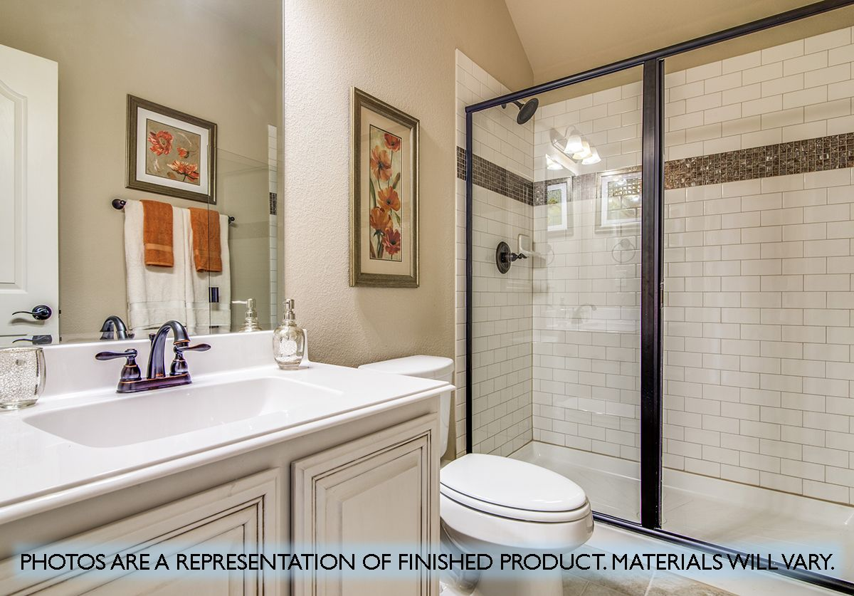 Bathroom featured in the Magnolia By Bloomfield Homes in Dallas, TX