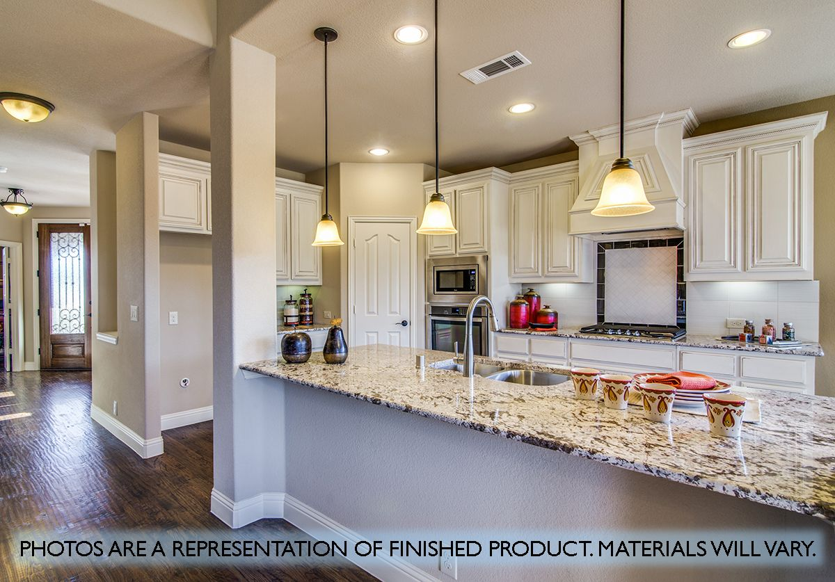 Kitchen featured in the Magnolia II By Bloomfield Homes in Dallas, TX