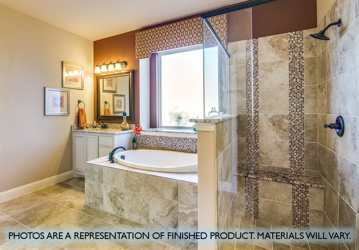 Bathroom featured in the Magnolia II By Bloomfield Homes in Dallas, TX