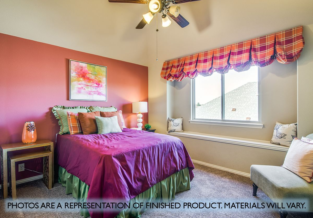 Bedroom featured in the Magnolia II By Bloomfield Homes in Dallas, TX