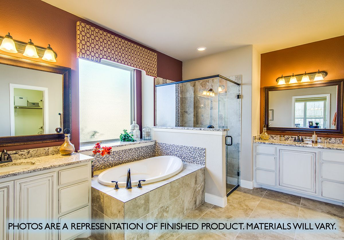 Bathroom featured in the Magnolia III By Bloomfield Homes in Dallas, TX