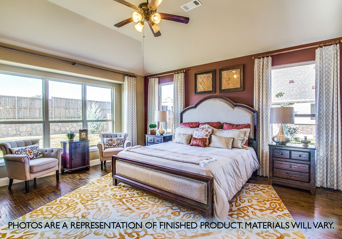 Bedroom featured in the Magnolia III By Bloomfield Homes in Dallas, TX
