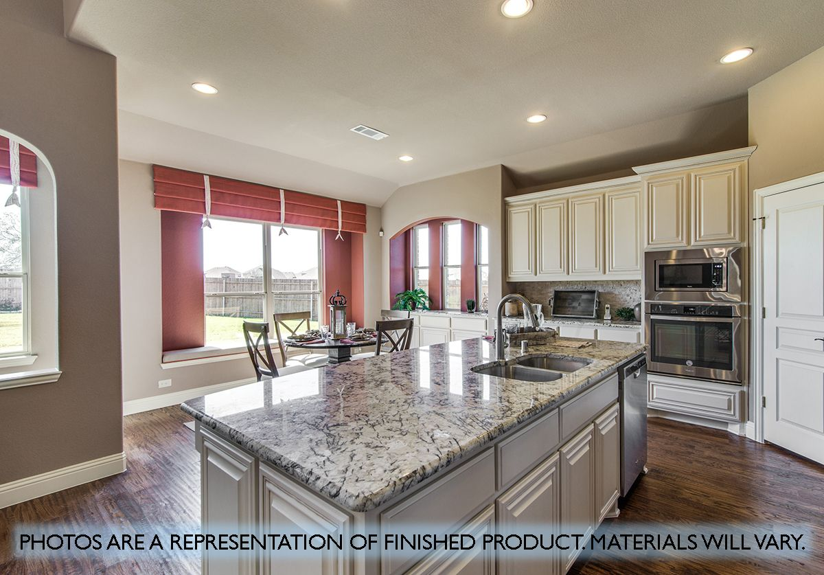 Kitchen featured in the Primrose FE V  By Bloomfield Homes in Dallas, TX