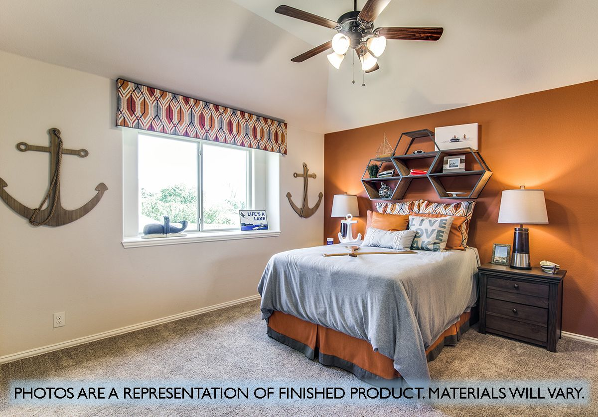 Bedroom featured in the Primrose FE V  By Bloomfield Homes in Dallas, TX