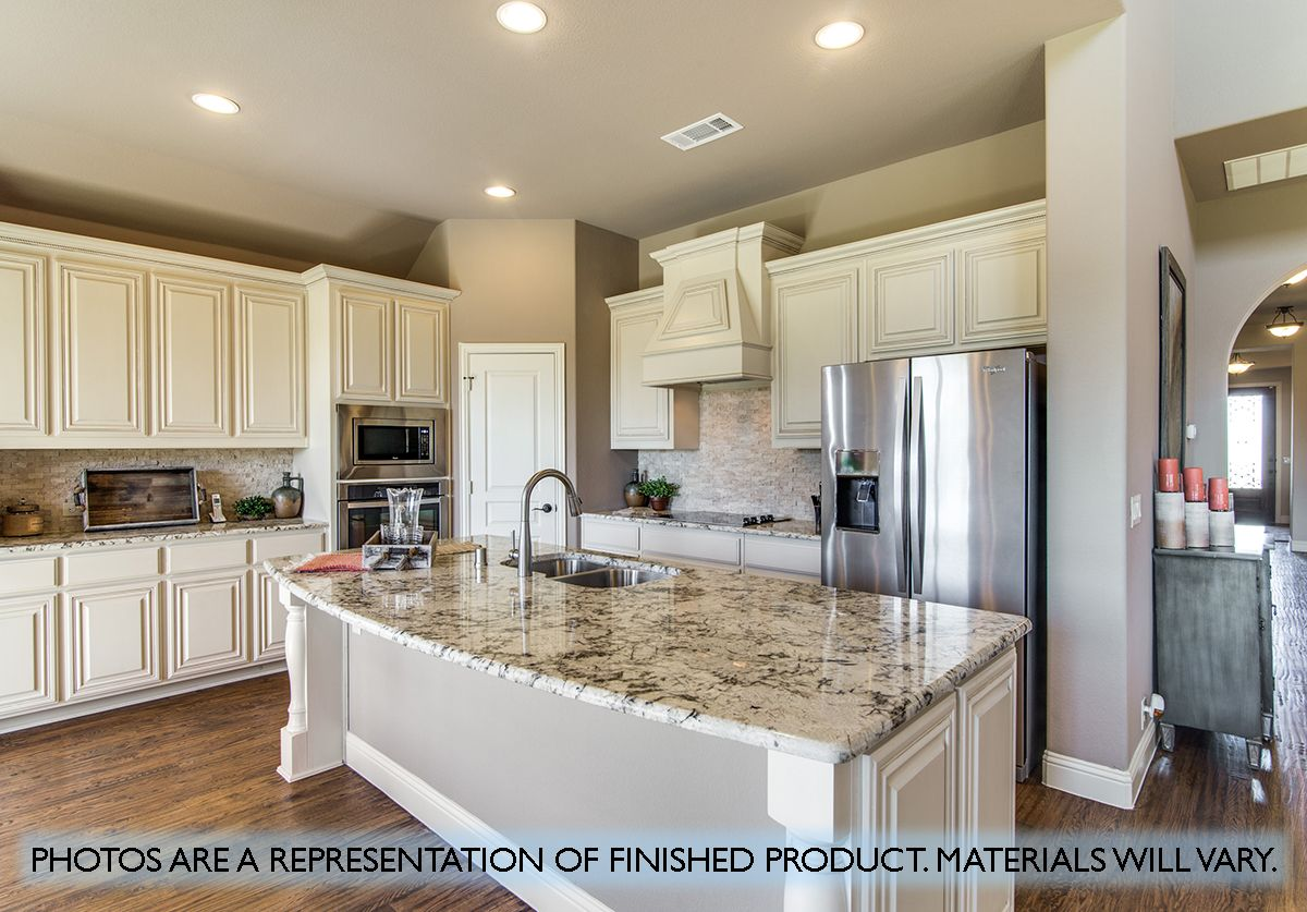 Kitchen featured in the Primrose FE II By Bloomfield Homes in Fort Worth, TX