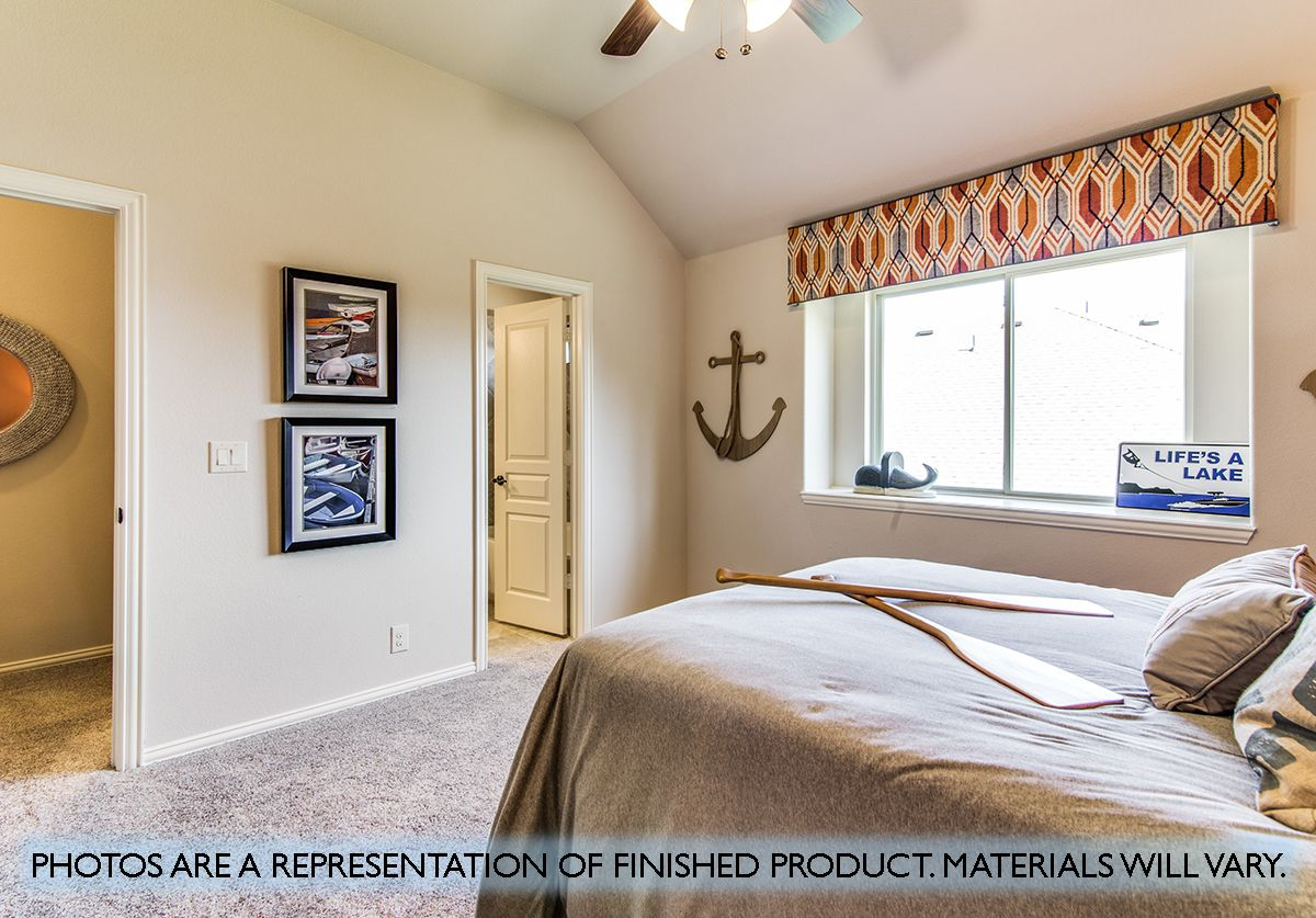 Bedroom featured in the Primrose FE III  By Bloomfield Homes in Dallas, TX