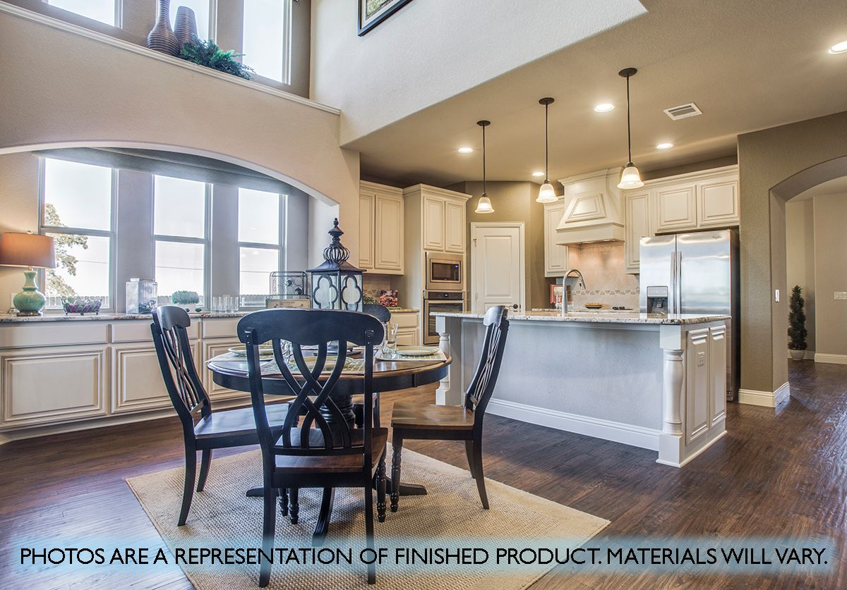 Kitchen featured in the Wisteria By Bloomfield Homes in Dallas, TX