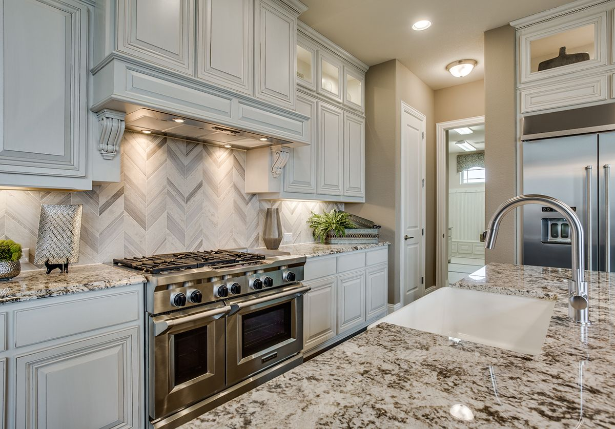 Kitchen featured in the Caspia By Bloomfield Homes in Dallas, TX
