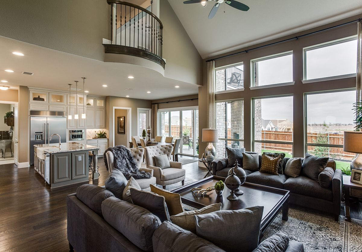 Living Area featured in the Caspia By Bloomfield Homes in Dallas, TX