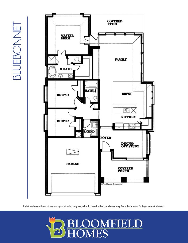 Bluebonnet Floor Plan